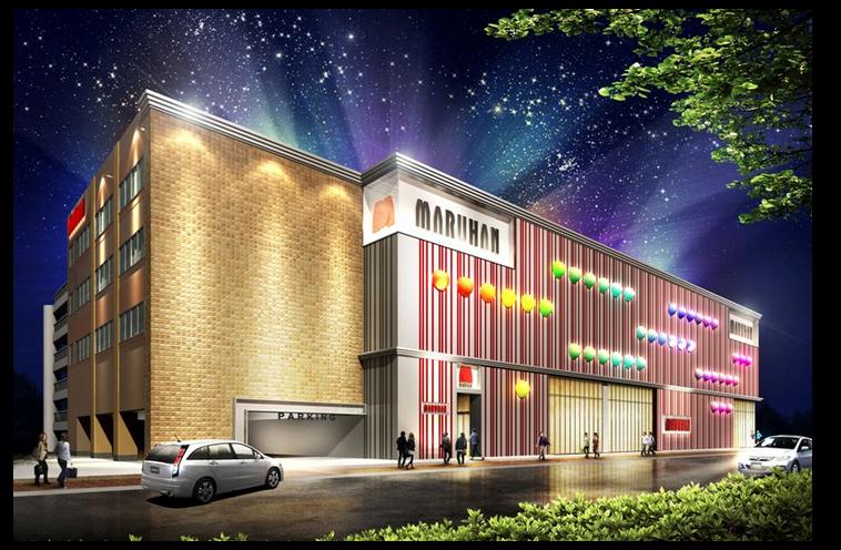 この年末で、新たにマルハンが2店舗をグランドオープン