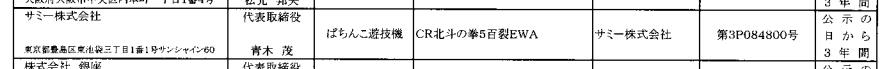 【速報】CR北斗の拳5百裂EWAが検定通過確認