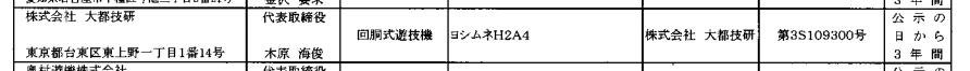 ヨシムネH2A4(大都)が検定通過/吉宗に新たな動き?