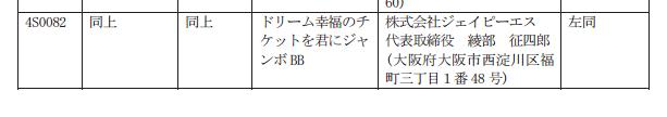 【記事追加 検定通過】JPS「ドリームジャンボ」サイト公開/カタログもダウンロードの時代に?