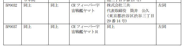 【試打動画追加】CRフィーバー宇宙戦艦ヤマトが検定通過/前作「ヤマト復活篇」から約4年ぶり
