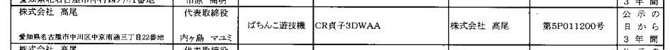 【別スペックも通過確認】CR貞子3Dが検定通過/リングの流れを組むホラーパチンコ 高尾からリリース