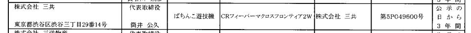 【別スペックも確認】マクロスフロンティアの新作パチンコが検定通過/CRフィーバーマクロスフロンティア2SP