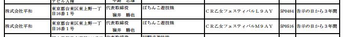 乙女シリーズの最新作が2スペック確認/CR乙女フェスティバル(平和)検定通過