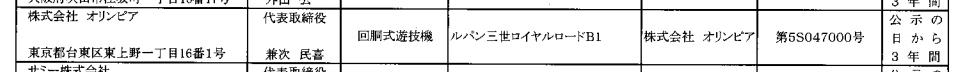 パチスロルパン三世ロイヤルロード検定通過/プロモ動画&試打動画ほか