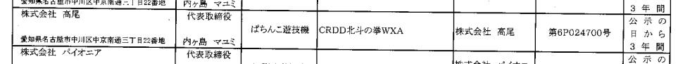 【別スペックも】北斗シリーズ最新作「DD北斗の拳」が検定通過/ギャグ漫画系北斗