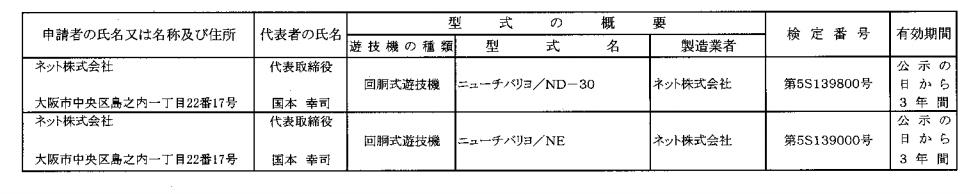 なつかしの「チバリヨ」シリーズがネットから検定通過/25Φ30Φ両方で確認