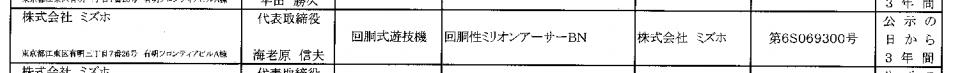 回胴性ミリオンアーサー(ミズホ)検定通過/拡散性ミリオンアーサーのパチスロ化