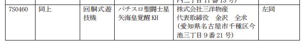 パチスロ聖闘士星矢海皇覚醒が検定通過/前作よりもART純増枚数はプラス