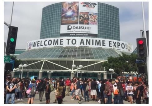 北米最大アニメイベント「ANIME EXPO 2017」に海ジャグラーエウレカが/マルハン社が協賛