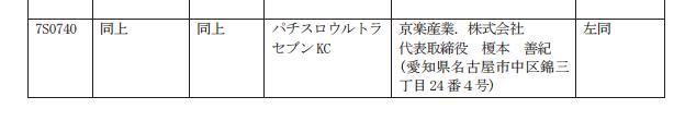パチスロウルトラセブン検定通過/京楽初めての「パチスロ版のウルトラセブン」