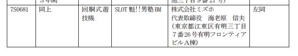 ユニバーサルから初めての「魁男塾」シリーズ/SLOT魁!!男塾BM 検定通過