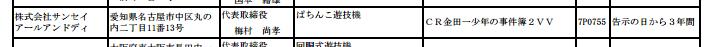 【公式動画またまた追加】久々の金田一 約4年ぶりに確認「CR金田一少年の事件簿2」が検定通過