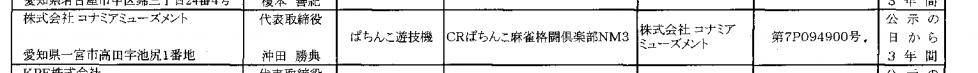 パチンコ版で初登場「ぱちんこ麻雀格闘倶楽部」コナミアミューズメントから