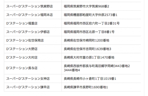 【いよいよ】遊技産業健全化推進機構に「12店舗の九州ディーステさん」登録確認